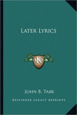 Later Lyrics