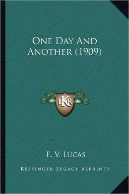 One Day And Another (1909)