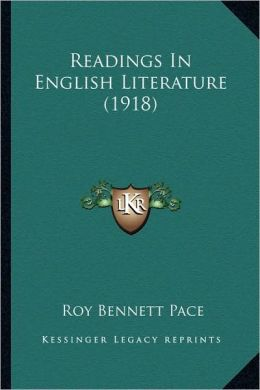 Readings In English Literature (1918)