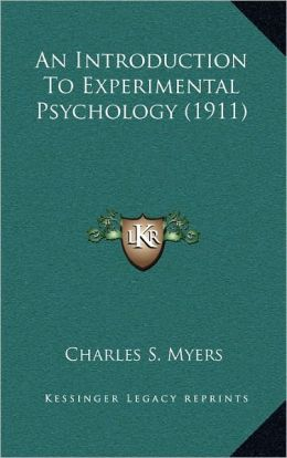 An Introduction To Experimental Psychology (1911)