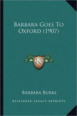 Barbara Goes To Oxford (1907)