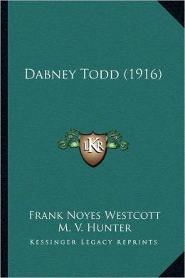 Dabney Todd (1916)