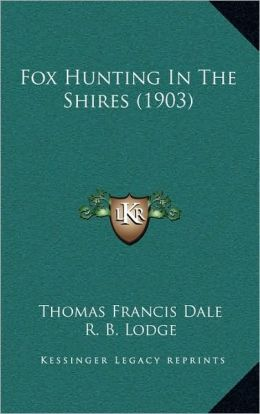 Fox Hunting In The Shires (1903)