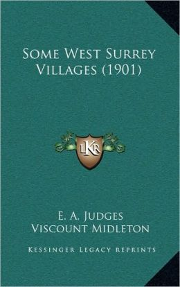 Some West Surrey Villages (1901)