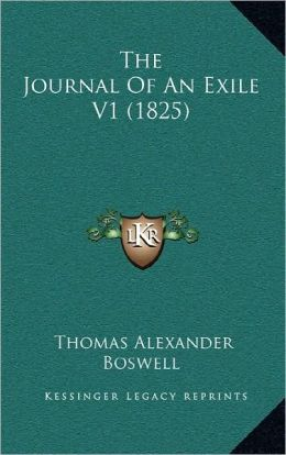 The Journal Of An Exile V1 (1825)