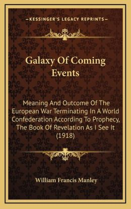 Galaxy Of Coming Events