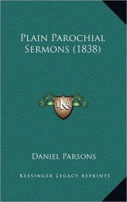 Plain Parochial Sermons (1838)