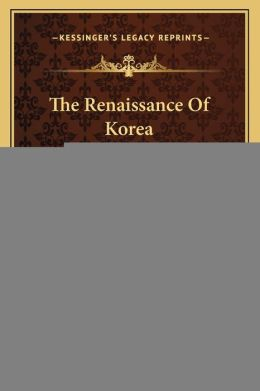 The Renaissance Of Korea (1920)