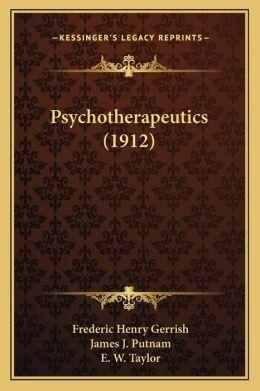 Psychotherapeutics (1912)