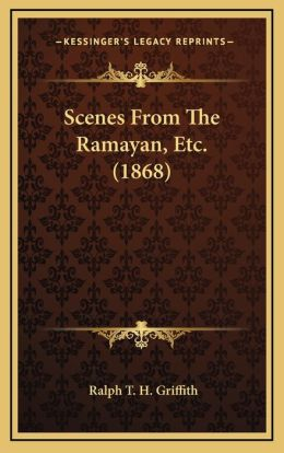 Scenes From The Ramayan, Etc. (1868)