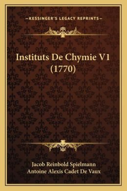 Instituts De Chymie V1 (1770)