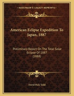 American Eclipse Expedition To Japan, 1887