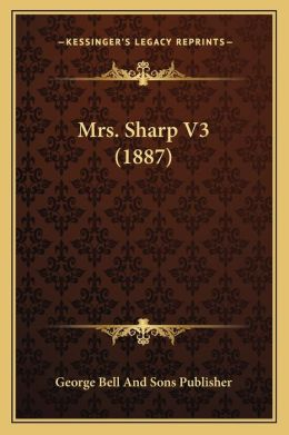 Mrs. Sharp V3 (1887)