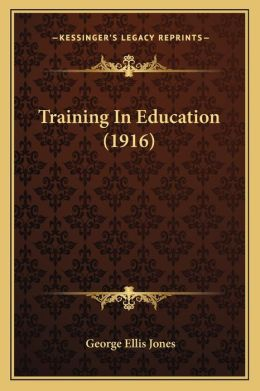 Training in Education (1916)