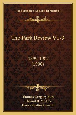 The Park Review V1-3: 1899-1902 (1900)