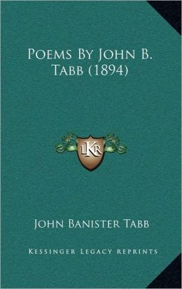Poems By John B. Tabb (1894)