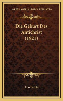 Die Geburt Des Antichrist (1921)