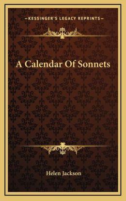 A Calendar Of Sonnets