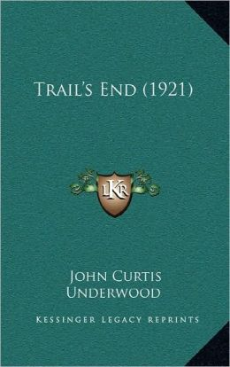 Trail's End (1921)