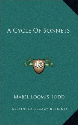 A Cycle Of Sonnets