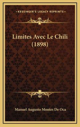 Limites Avec Le Chili (1898)