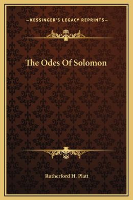 The Odes Of Solomon