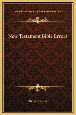 New Testament Bible Errors