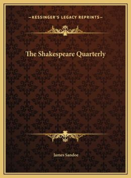 The Shakespeare Quarterly