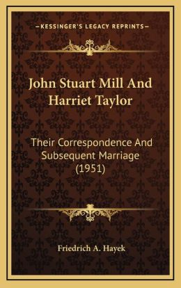 John Stuart Mill And Harriet Taylor