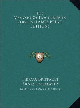 The Memoirs of Doctor Felix Kersten