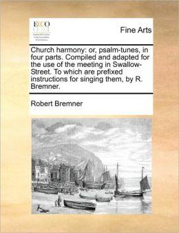 Church Harmony