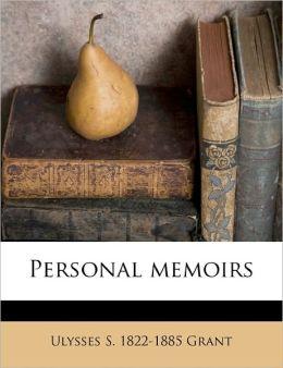 Personal Memoirs