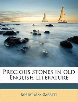 Precious stones in old English literature