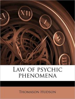 Law of psychic phenomena