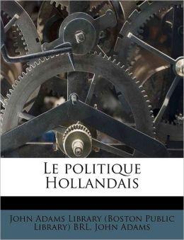 Le politique Hollandais