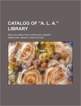 Catalog of