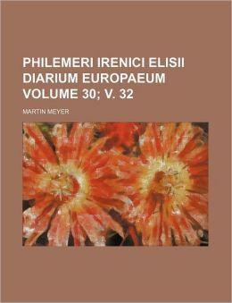 Philemeri Irenici Elisii Diarium Europaeum