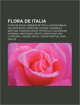 Flora de Italia: Flora de Sicilia, Arboles de Italia, Laurus Nobilis, Helicodiceros, Hieracium Lucidum, Calendula Maritima, Fraxinus Or