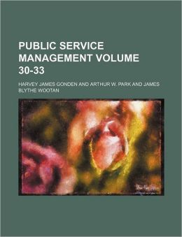 Public Service Management Volume 30-33
