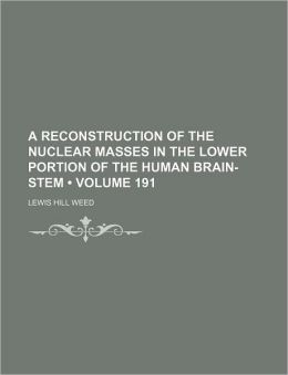 A Reconstruction of the Nuclear Masses in the Lower Portion of the Human Brain-Stem (Volume 191)