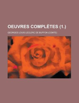 Oeuvres Completes (1.)