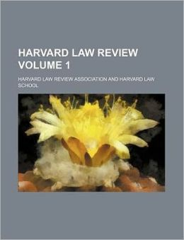 Harvard Law Review Volume 1