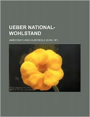 Ueber National-Wohlstand