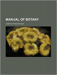 Manual of Botany