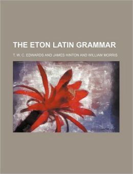The Eton Latin Grammar