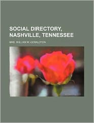 Social Directory, Nashville, Tennessee