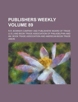 Publishers Weekly Volume 89