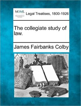 The Collegiate Study of Law.