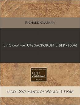 Epigrammatum sacrorum liber (1634)