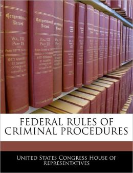 Federal Rules of Criminal Procedures